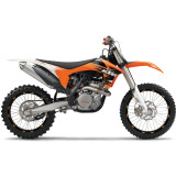 Rim Decals - KTM - N-Style 2012 Factory Team Graphics Kit - KTM