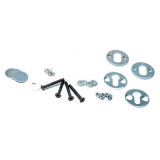 Lockhart Phillips Removable Wheel Chock Hardware Kit - Motorcycle Stands & Ramps