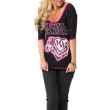 Metal Mulisha Women's Ride It 3/4 T-Shirt
