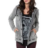 Metal Mulisha Women's Legacy Jacket - Dirt Bike Womens Casual