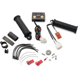 Moose Winter Pack Heated Grips - Thumb Throttle - Utility ATV Bars and Controls
