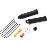 Moose No Adhesive Heated Grip Kit - Thumb Throttle - Utility ATV Bars and Controls
