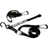 Moto-Gate Tiedowns With Carabiner & Soft Tie