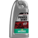 Motorex Power Synt 4T Oil - Fluids & Lubricants