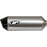 M4 Standard High Sport Mount Slip-On Exhaust - M4 Performance Exhaust Motorcycle Products