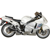 M4 Retro Drag Slip-On Exhaust - Dual - M4 Performance Exhaust Motorcycle Products