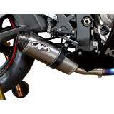 M4 Street Slayer Slip-On Exhaust - Carbon