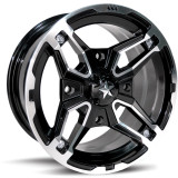Motosport Alloys Crusher Wheel - Motosport Alloys ATV Tire and Wheels
