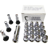 Motosport Alloys 3/8X24 Lug Nut Kit - Motosport Alloys ATV Tire and Wheels