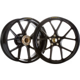 Marchesini Forged Magnesium SBK Front/Rear Wheel Combo With Sprocket Carrier - Motorcycle Rims & Wheels