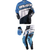 MSR 2015 Youth Axxis Combo - Dirt Bike Pants, Jerseys, Gloves, Combos