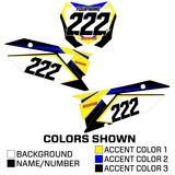 MotoSport Factory Series Backgrounds - Suzuki