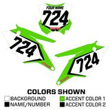 MotoSport Racer Series Backgrounds - Kawasaki