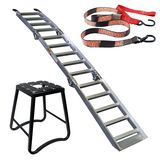 MotoSport Ramp, Stand, and Tiedowns Combo