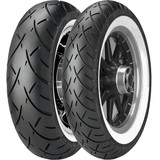 Metzeler ME888 Marathon Ultra Triple Eight Tire Combo - Wide Whitewall - Metzeler Cruiser Products