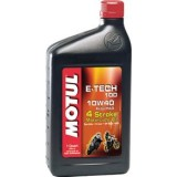 Motul E-Tech 100 Synthetic Oil - Fluids & Lubricants