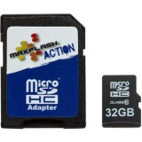 MaxFlash Action Class 10 Micro SD Memory Card - Motorcycle Helmets - Sportbike & Street Bike Helmets