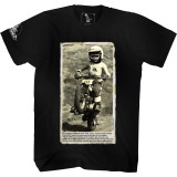 Moto XXX Wheelie T-Shirt - Dirt Bike Mens Casual
