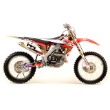 N-Style 2012 Accelerator Graphics Kit - Honda - Dirt Bike Graphic Kits With Seat Covers
