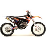 N-Style 2012 Accelerator Graphics Kit - KTM - Dirt Bike Graphic Kits With Seat Covers