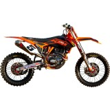 N-Style 2012 Factory Team Graphics Kit - KTM - Dirt Bike Graphic Kits With Seat Covers