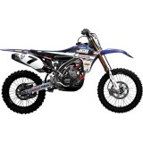 N-Style 2012 JGR Graphics Kit - Yamaha - Dirt Bike Graphic Kits With Seat Covers