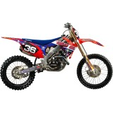 N-Style 2012 Troy Lee Designs Graphics Kit - Honda - Dirt Bike Graphic Kits With Seat Covers