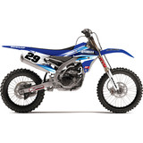 N-Style 2015 Impact Graphics Kit - Yamaha - N-Style Dirt Bike Graphic Kits