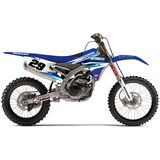 N-Style 2015 Impact Graphics Only - Yamaha - N-Style Dirt Bike Graphic Kits