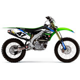 N-Style 2015 Basics Graphics Kit - Kawasaki - N-Style Dirt Bike Graphic Kits
