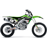 N-Style 2015 Impact Graphics Kit - Kawasaki - N-Style Dirt Bike Graphic Kits