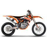 N-Style 2015 Impact Graphics Kit - KTM - N-Style Dirt Bike Graphic Kits