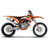 N-Style 2015 Impact Graphics Only - KTM - N-Style Dirt Bike Graphic Kits