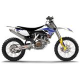 N-Style 2015 Basics Graphics Kit - Husqvarna - N-Style Dirt Bike Graphic Kits