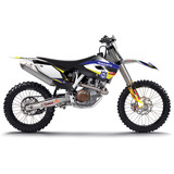 N-Style 2015 Impact Graphics Kit - Husqvarna - N-Style Dirt Bike Graphic Kits