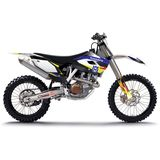 N-Style 2015 Impact Graphics Only - Husqvarna - N-Style Dirt Bike Graphic Kits