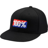 100% OG Flatbill Flexfit Hat - 100% Utility ATV Products
