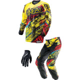 O'Neal 2014 Element Combo - Acid - O'Neal Dirt Bike Riding Gear