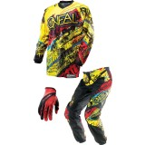 O'Neal 2014 Youth Element Combo - Acid - O'Neal Dirt Bike Riding Gear