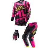 O'Neal 2014 Girl's Element Combo - O'Neal Dirt Bike Riding Gear