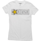 One Industries Women's Rockstar Caia T-Shirt - Utility ATV Womens Casual