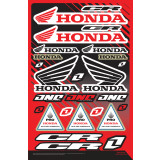 One Industries 2013 Honda CR Decal Sheet - ATV Graphics, Decals, Seats and Seat Covers