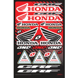 One Industries 2013 Honda CRF Decal Sheet - ATV Graphics, Decals, Seats and Seat Covers