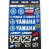 One Industries 2013 Yamaha YZ Decal Sheet - ATV Graphics, Decals, Seats and Seat Covers