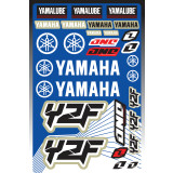 One Industries 2013 Yamaha YZF Decal Sheet - ATV Graphics, Decals, Seats and Seat Covers