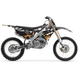 One Industries 2012 Airborne Graphic Kit - Honda - Dirt Bike Graphic Kits With Seat Covers