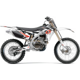 One Industries 2012 Stinger Cosmetic Kit - Yamaha - Dirt Bike Graphic Kits With Seat Covers