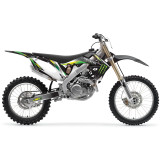 One Industries 2012 Monster Energy Cosmetic Kit - Honda - Dirt Bike Graphic Kits With Seat Covers