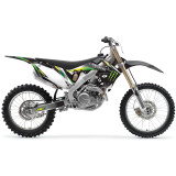 One Industries 2012 Monster Energy Graphic Kit - Honda - Dirt Bike Graphic Kits With Seat Covers