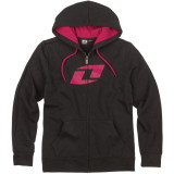 One Industries Women's Icon Et Zip Hoody - ICON Dirt Bike Casual
